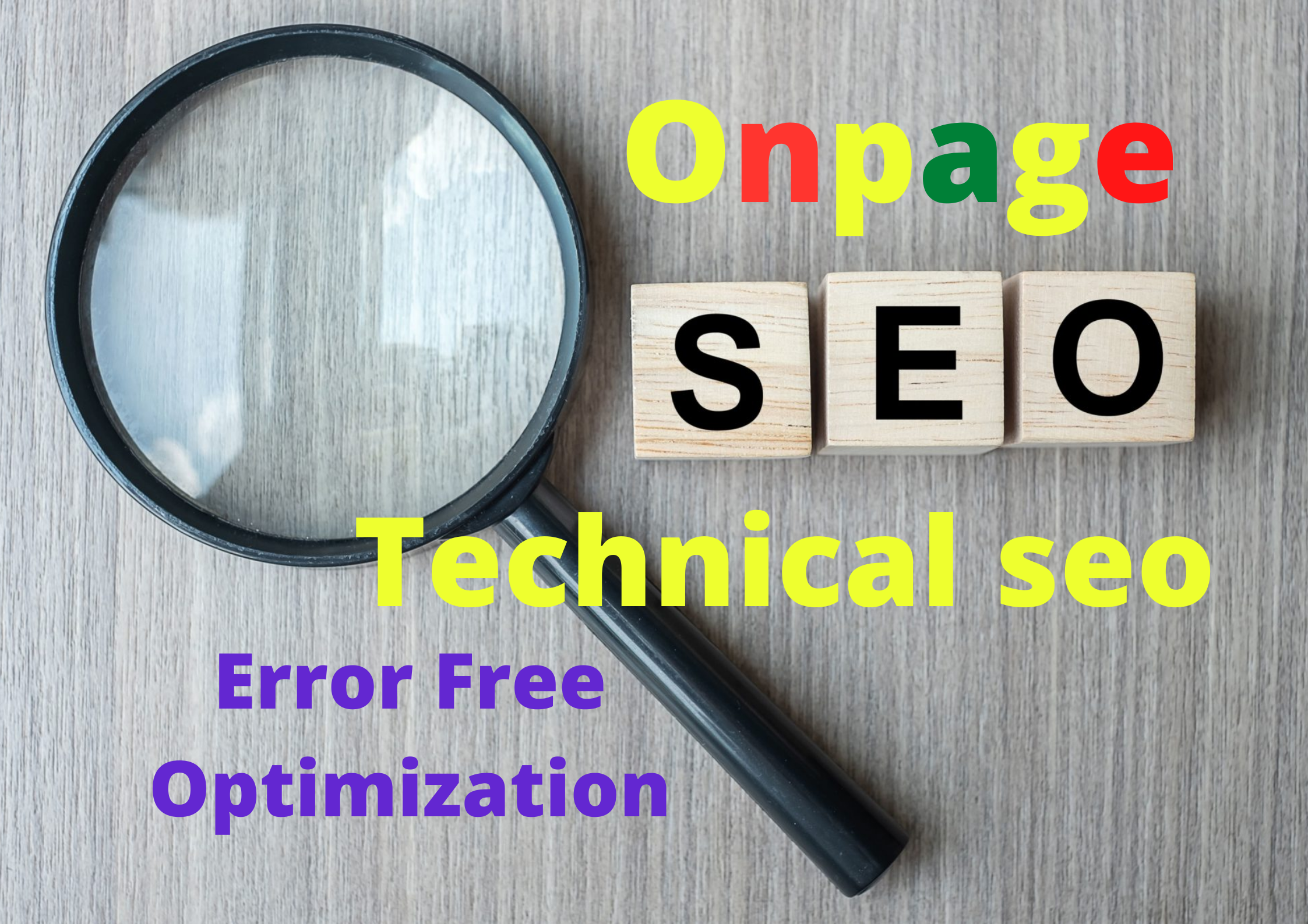 I will do Onpage and Technical SEO for your website or blog