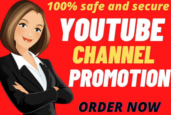 I will do organic YouTube video promotion to grow fast