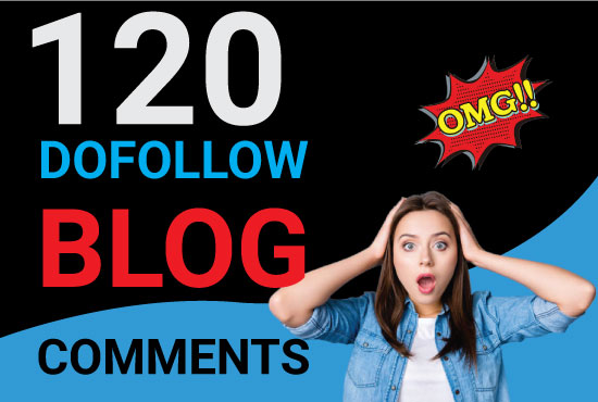 Manually Create 120 HQ Blog Comment Backlinks for GOOGLE RANK