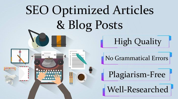 I will do SEO article writing or a blog post writing for you
