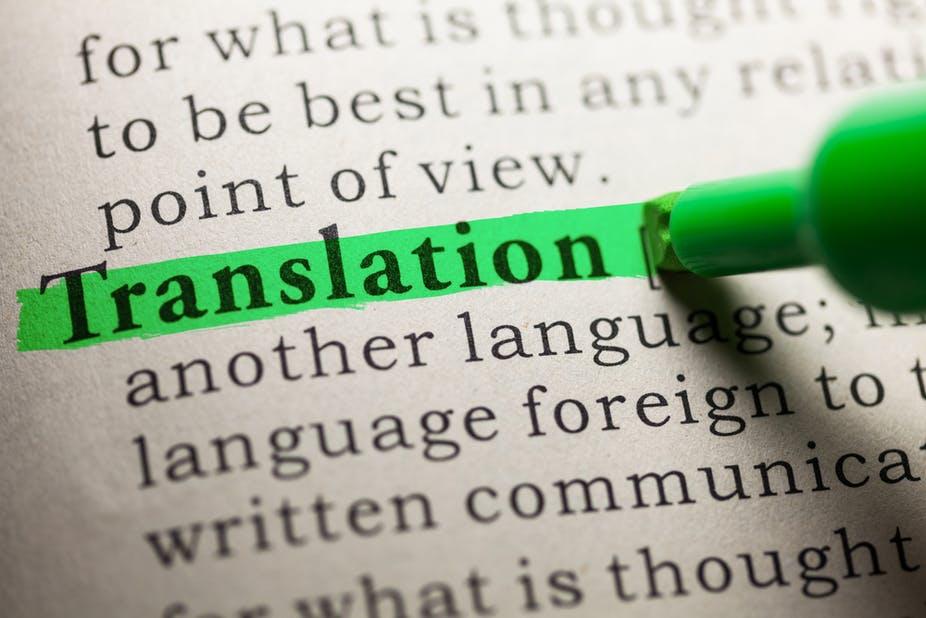 Spanish-English and vice versa Translations