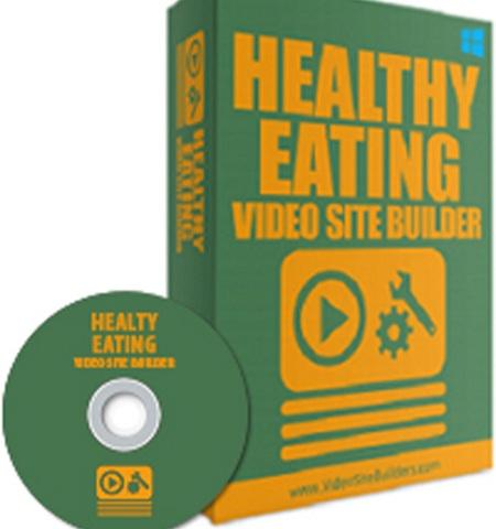 Health eating site builder software