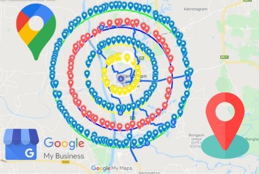 I will do 17000 google maps citations for local SEO