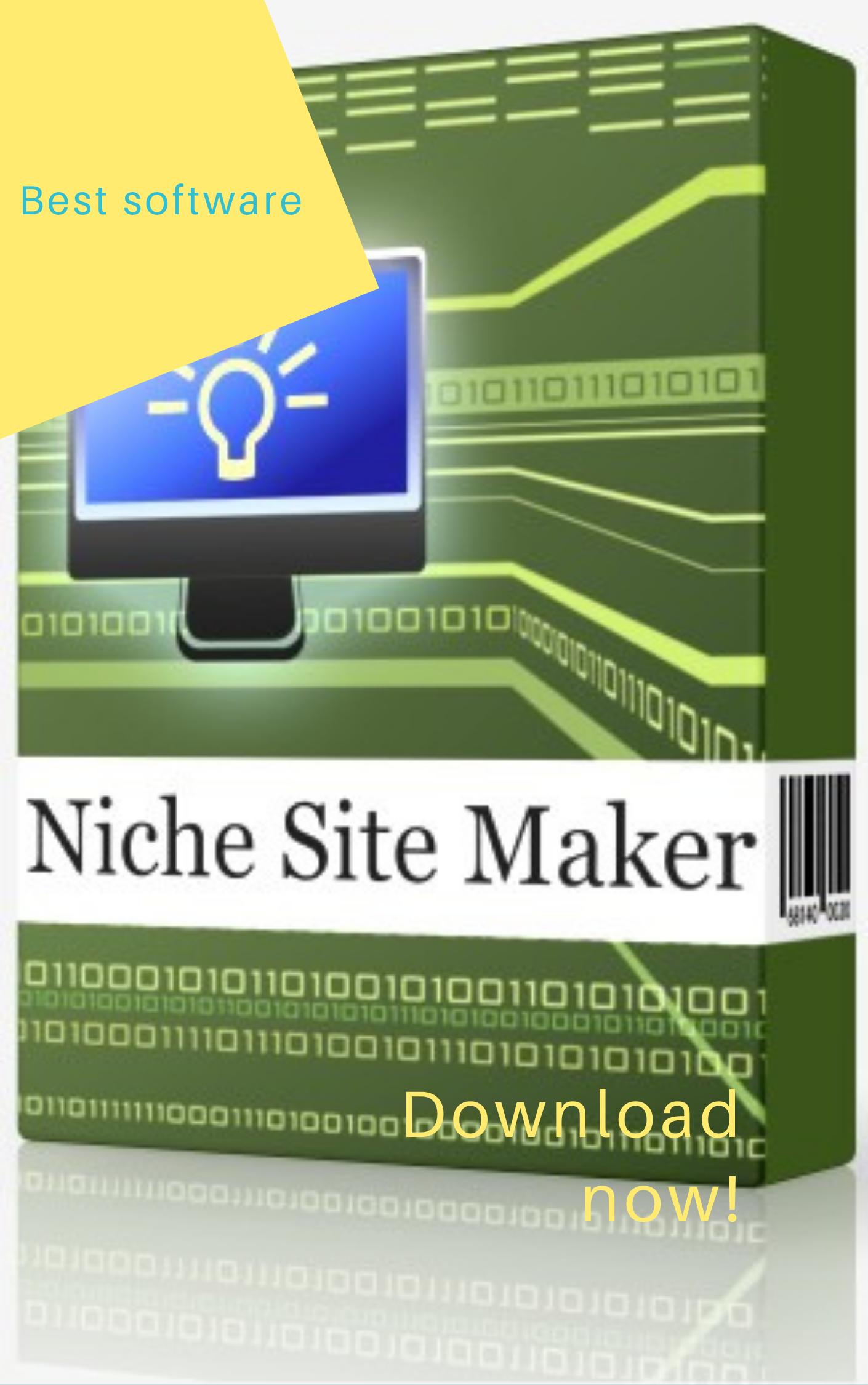 Niche site maker best software