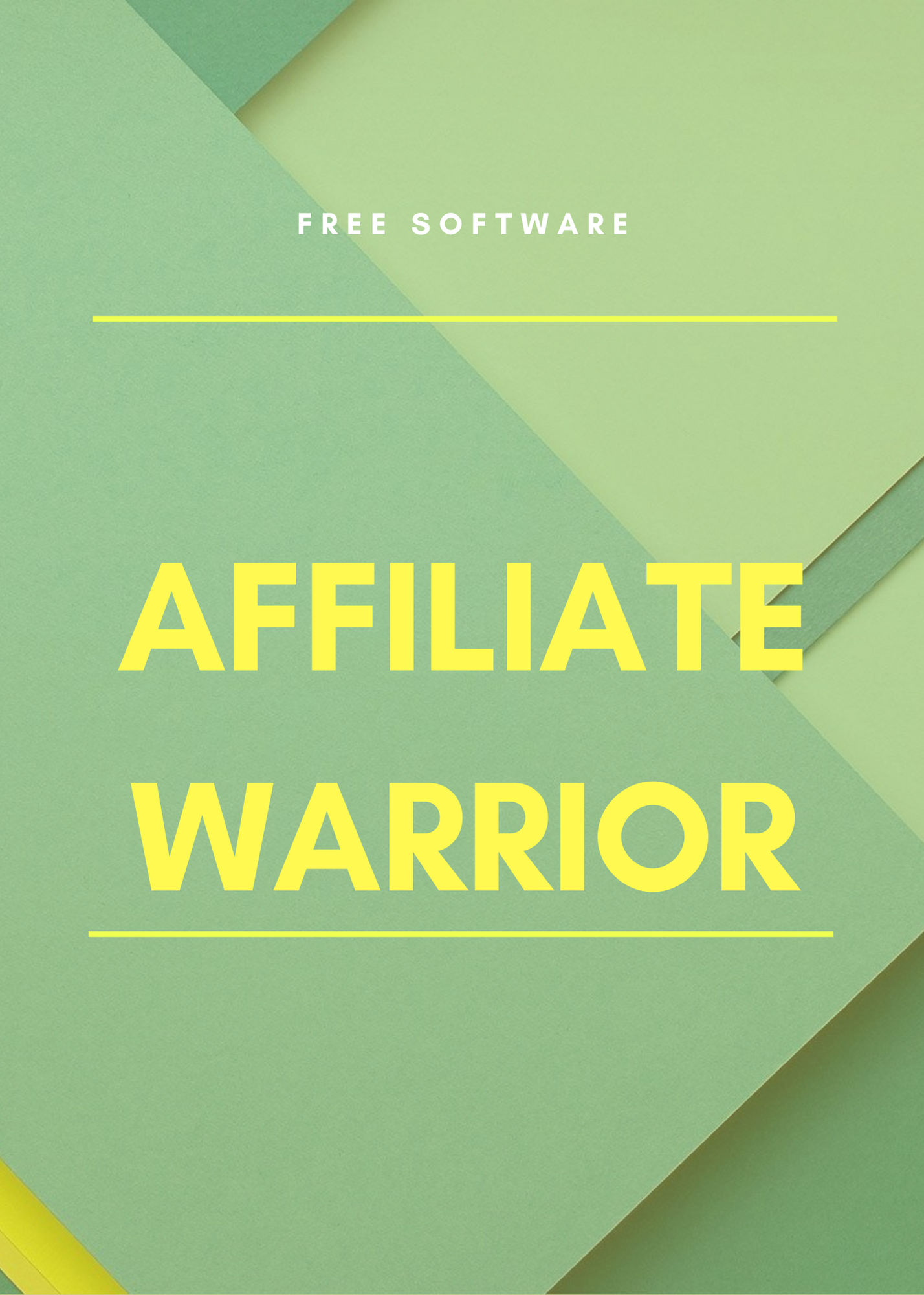 FREE SOFTWARE download for Affiliate