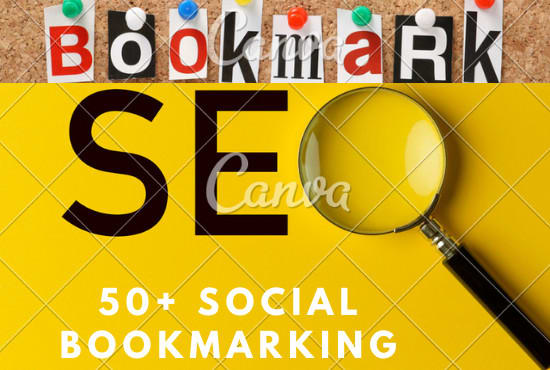 I will manually create top quality 50 bookmarks on social sites