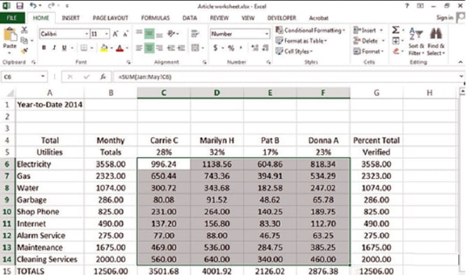 You will get accurately excel data entry, typing, copy-paste, PDF to Word and Excel