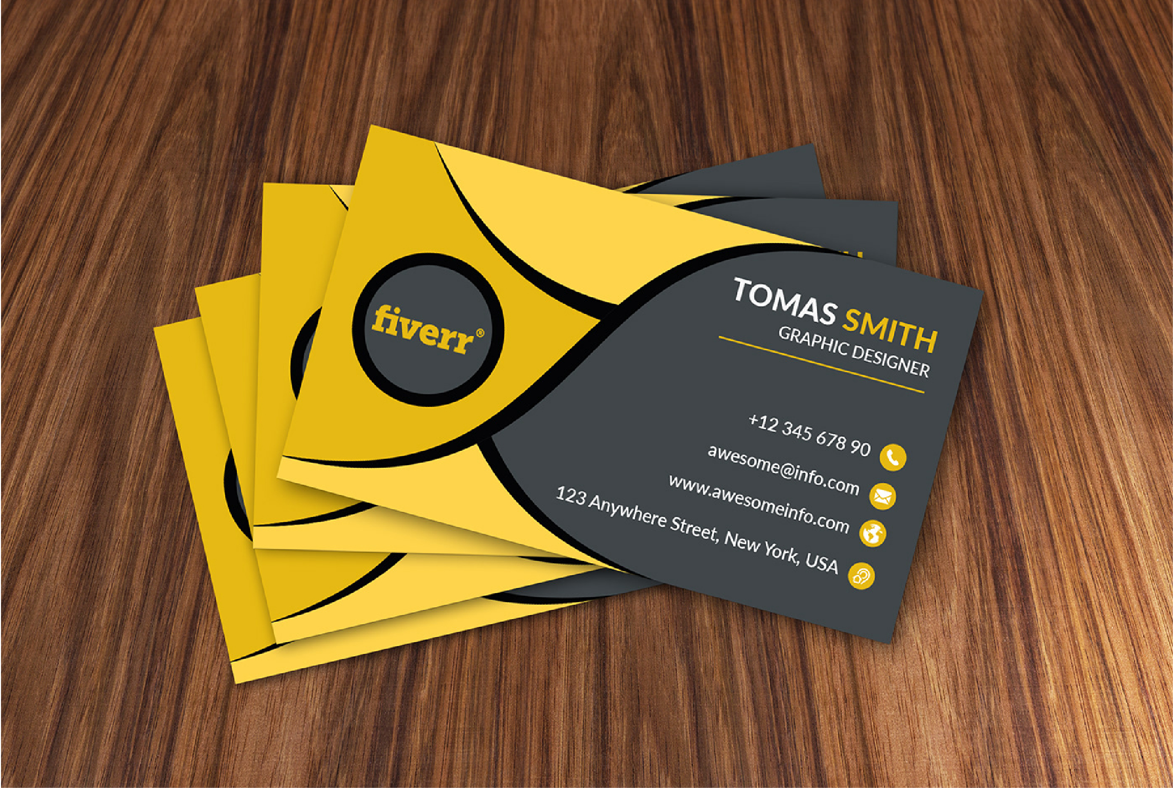 I will design professional business card and logo in 24 hours