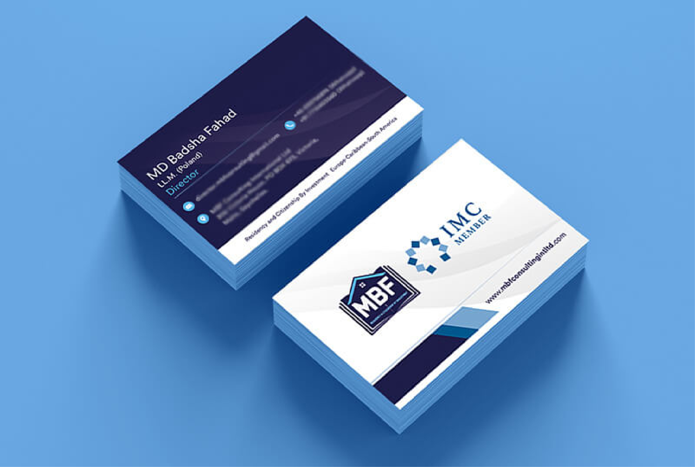I will do business card or stationery design