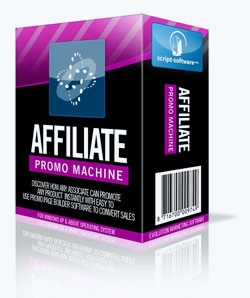 Affiliate Promo Machine for Create Affiliate promotioal pages