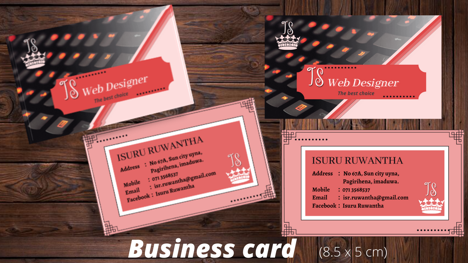 I will create professional business card,  banner,  flyer,  invitation,  menu card,  certificate for you.