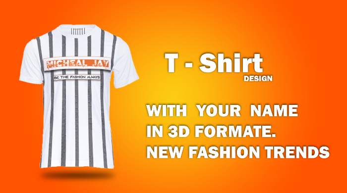 Get Unique T shirts Designs with your name
