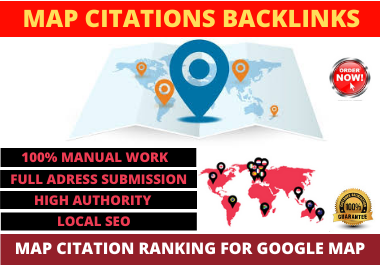 I will provide 1000 Local Map Citations backlinks for your targeted location