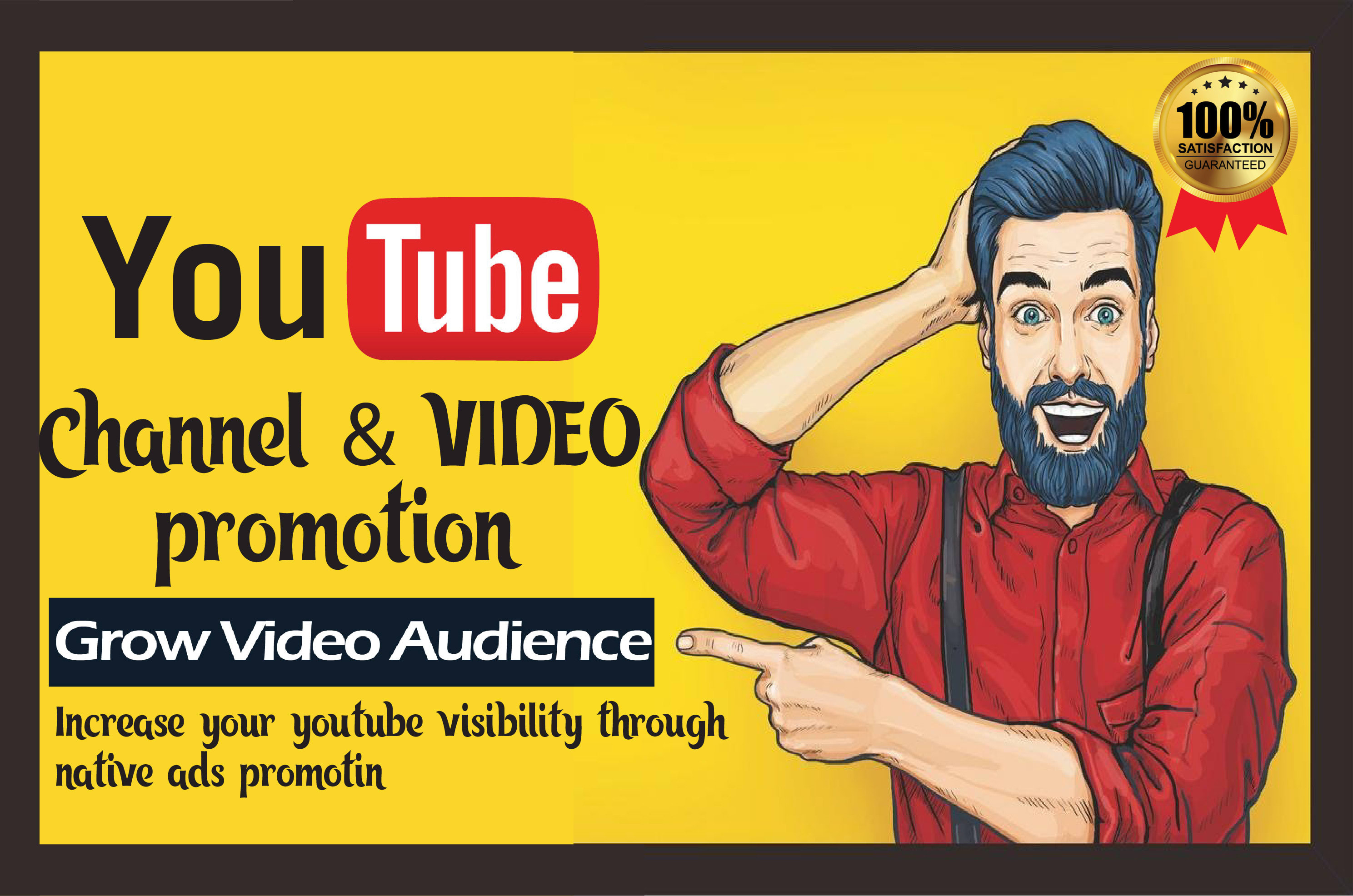 Promote youtube video boost advertising viral marketing SEO ranking