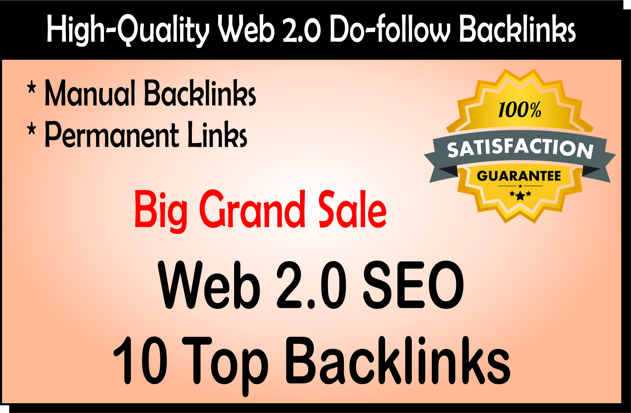 You Will Get 10 High Quality Web 2.0 Backlinks