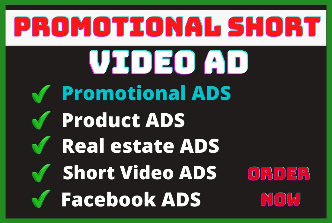 I will create promotional video ad for your business