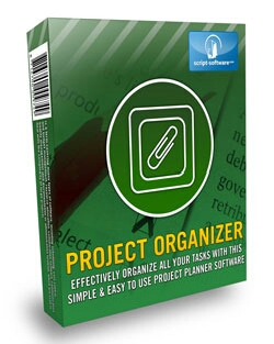 Project Organiser effective organize all your tasks with this simple& easy to use ptojject planner.