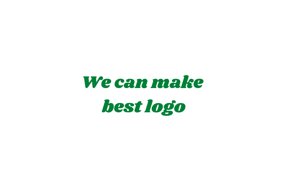 We create great logo in a very short span of time.