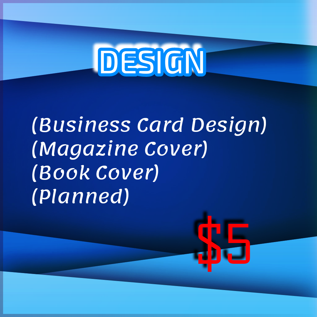 Creating distinctive designs for business cards,  book and magazine covers,  as well as making charts.