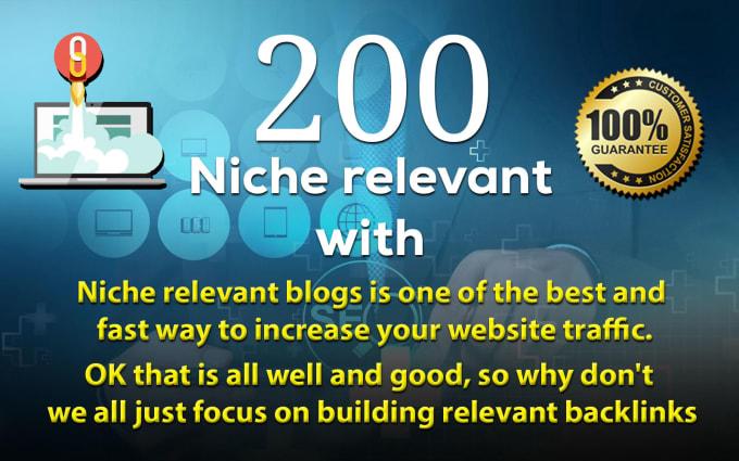 200 High Niche Blog Comments Boostup Website Ranking