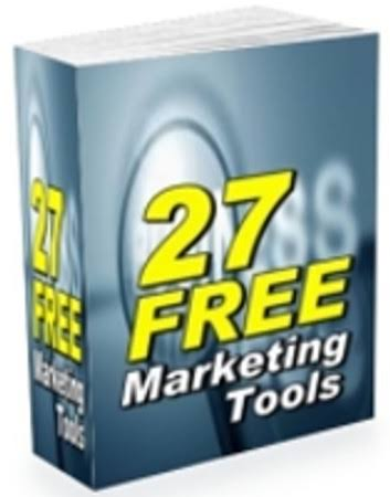 27 free marketing tools for your small business