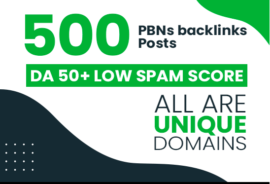 Get Top 50 Sticky Homepage Dofollow and Permanent high 60+ DA/ DR PBNs BACKLINKS