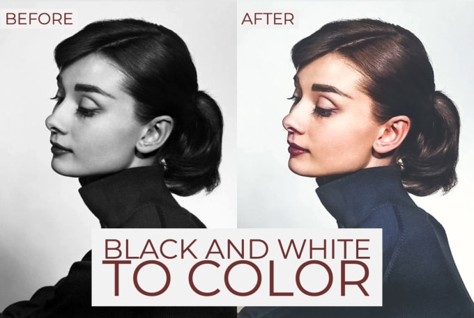I will colorize black and white photos and do color correction