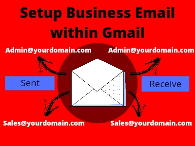 You will get business email or personal email setup in your Gmail