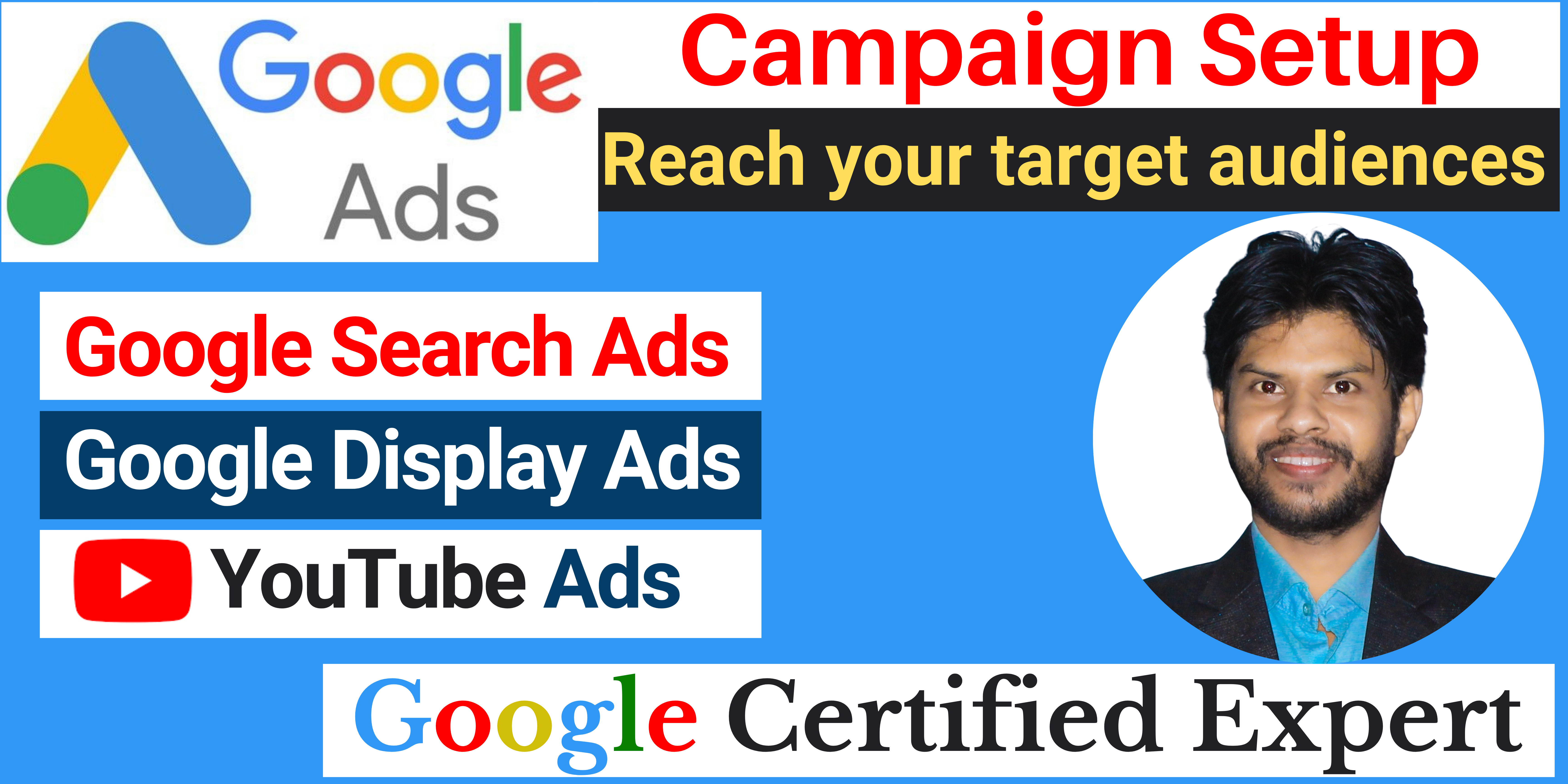 I will setup and manage Google Ads Campaign to make your business more profitable
