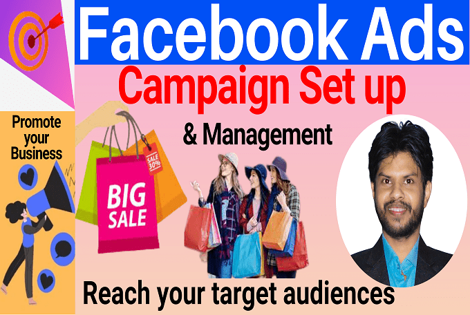 I will set up and manage Facebook Ads Campaign to Boost your Page
