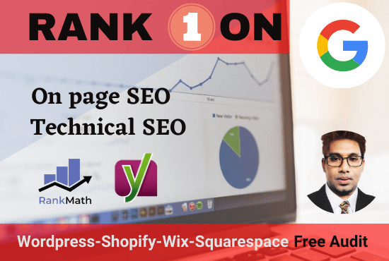 I will do professional Onpage SEO & technical optimization with keyword research for website ranking