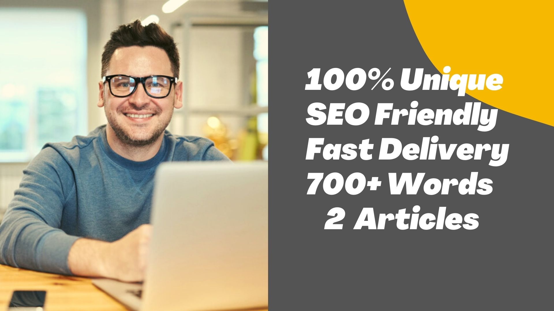 Write Two 700+ Word SEO Unique Article - PREMIUM Articles - Special Offer