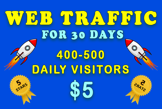 Unlimited Real Human Targeted Web Traffic By Search Engine For 30 Days