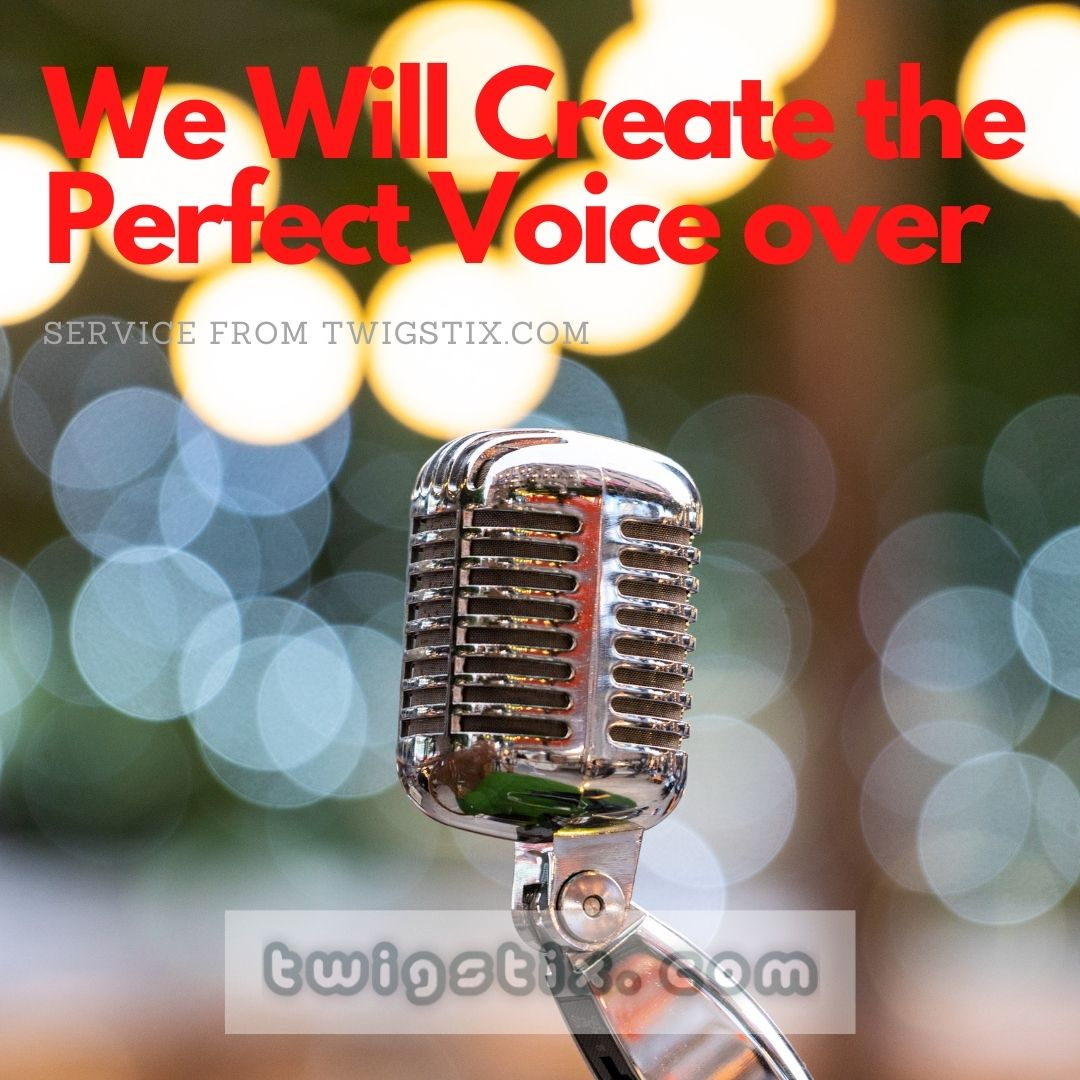 The Perfect Voice over for any video or presentation of your choice