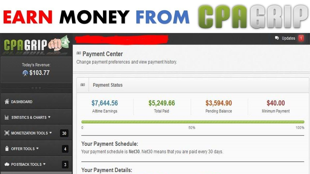 I will teach an easy instagram method to earn 100usd daily from CPA