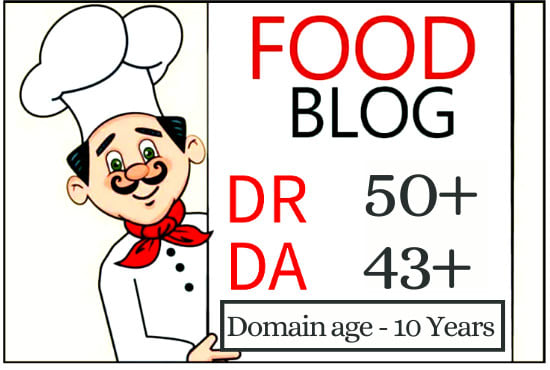 I will publish food guest post on my DR 47 health and fitness blog