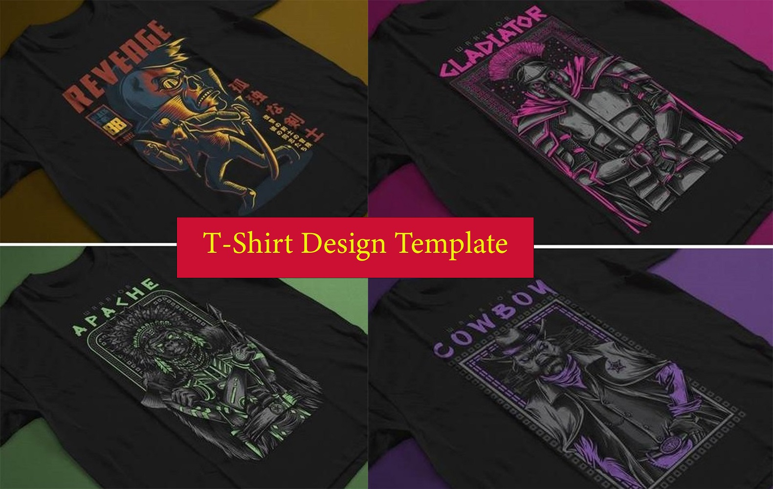 design template t shirt for your business