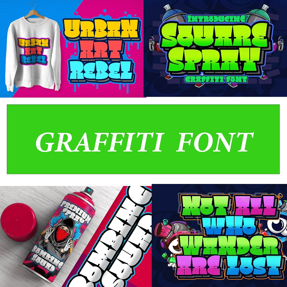 design graffiti font r logo or letters for your business