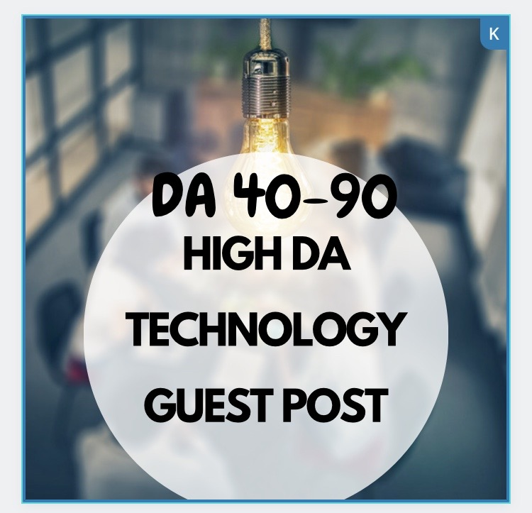 I will publish your article on tech guest post with high dr high authority backlinks