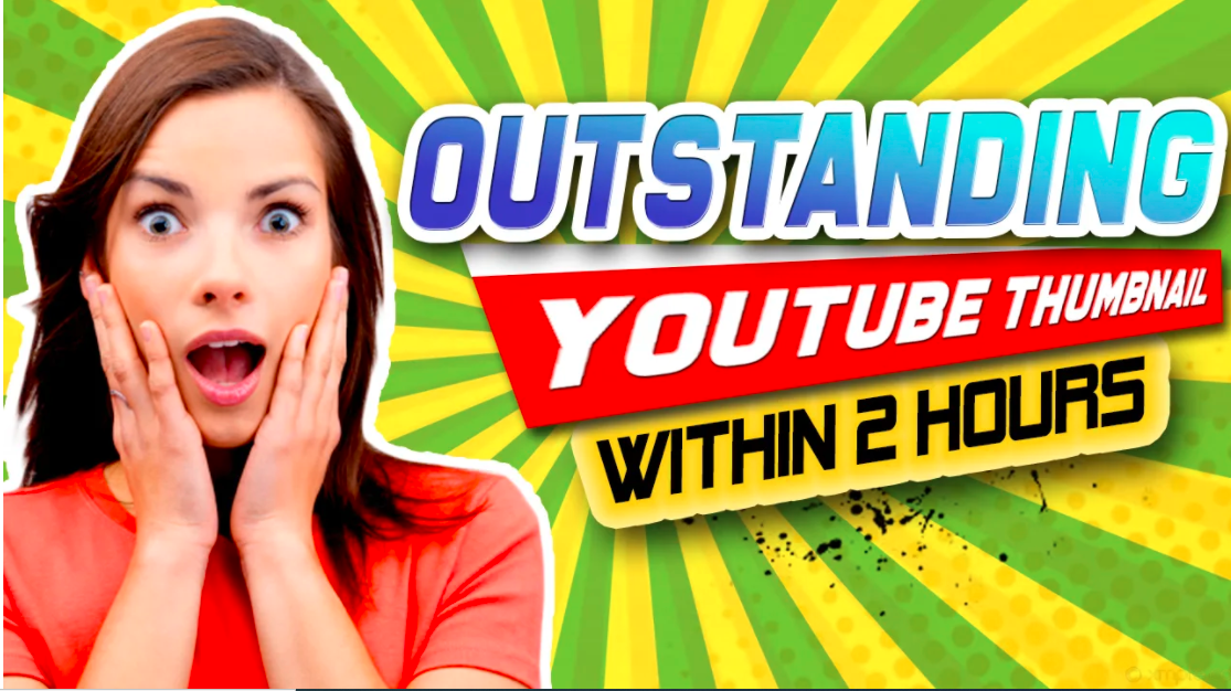 I will design attractive YouTube thumbnails