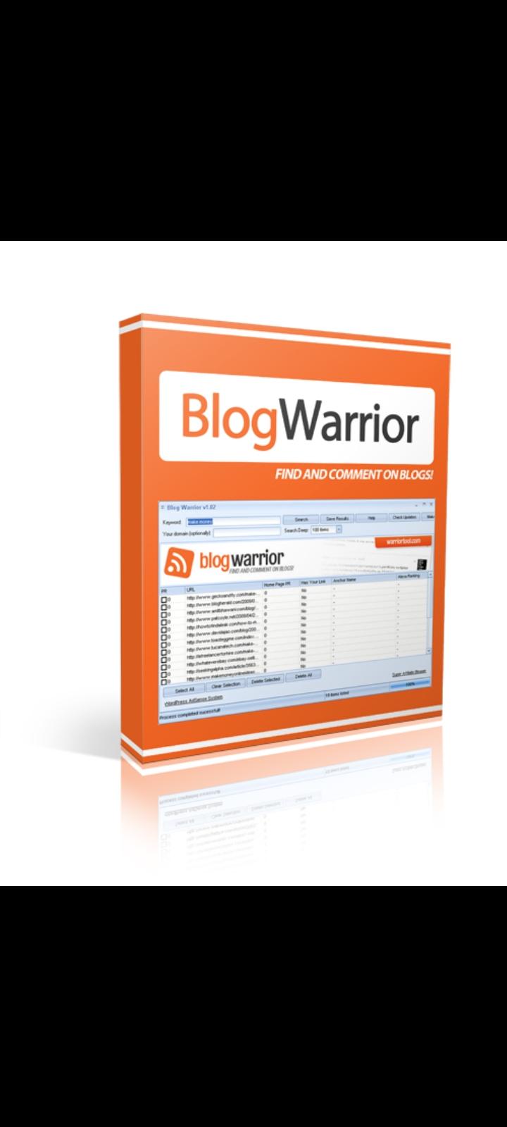 Blog warrior for blogging marketing