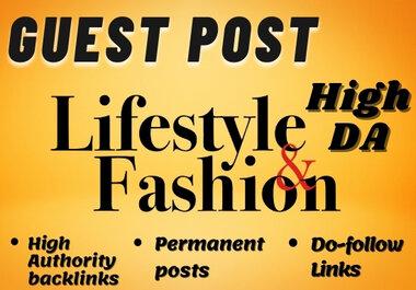 Fashion Guest Post on High DA website with Do-Follow Backlink
