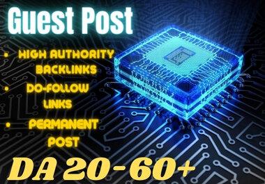 Tech Guest Post On High DA Website with Do-Follow Backlink