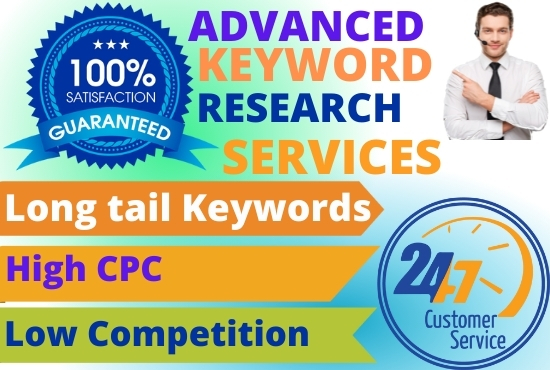 SEO keyword research and competitor analysis for google top ranking