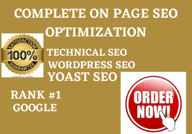 I will do perfect onpage SEO for wordpress website