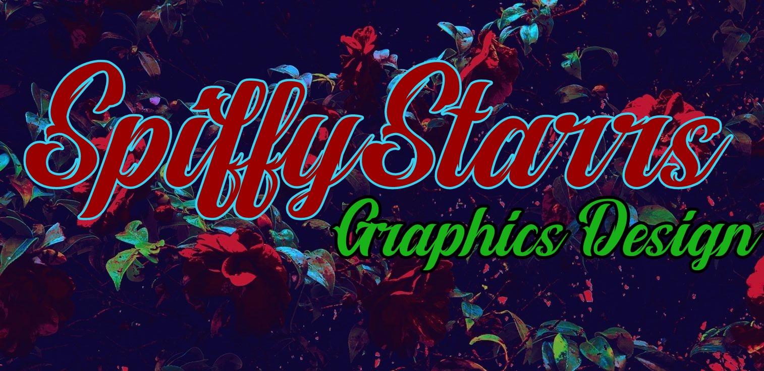 SpiffyStarrs Graphics Design Virtual Typographic Logos