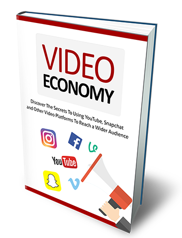Video economy using YouTube,  Snapchat and other video platforms