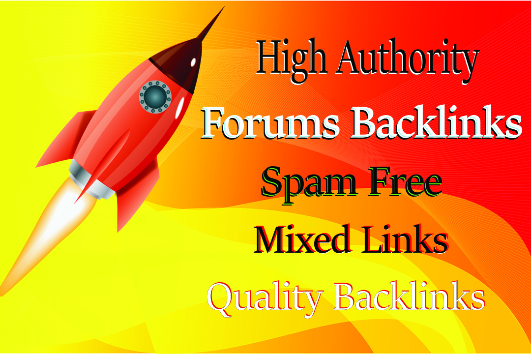 Provide 50 Dofollow Forum Backlinks and Posts With High-Quality Sites