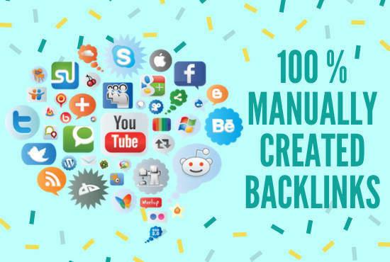 I will do high quality social bookmarks SEO backlinks for google ranking