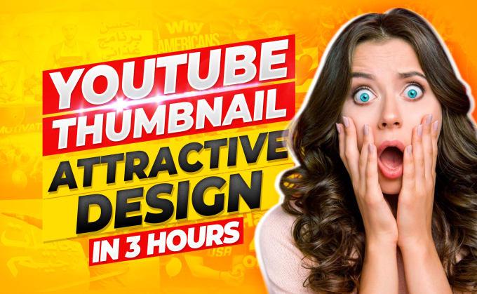 I make YouTube thumbnails professionally